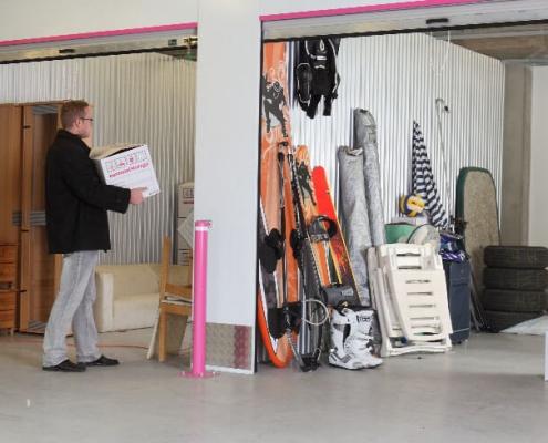 Raktár bérlés magánszemélyeknek az Euro Mini Storage-nál